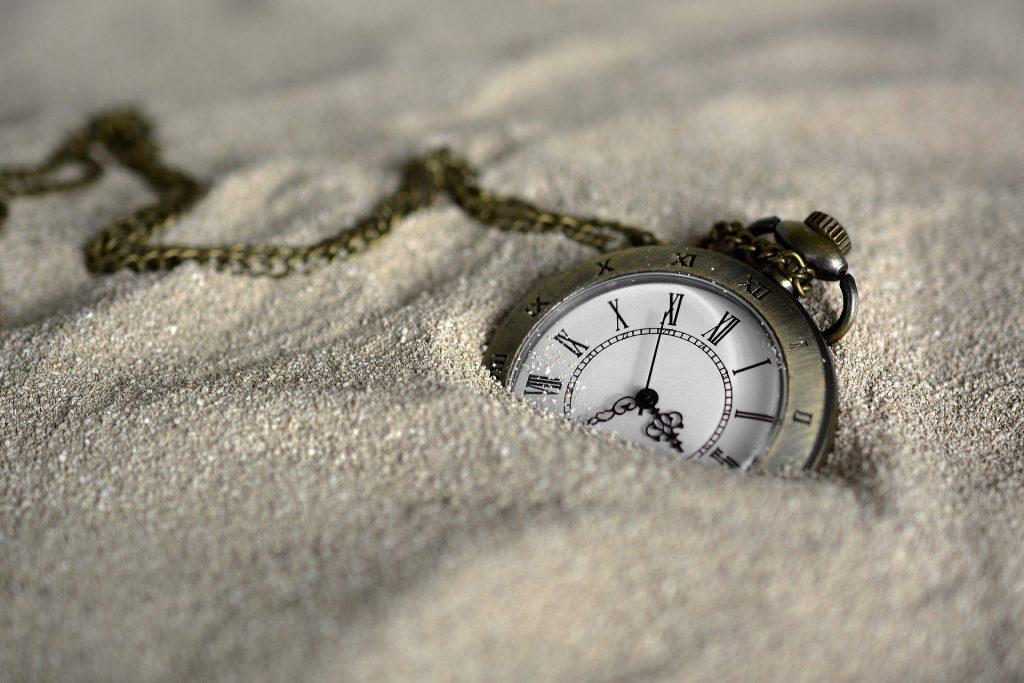 le temps passe et chaque moment compte
